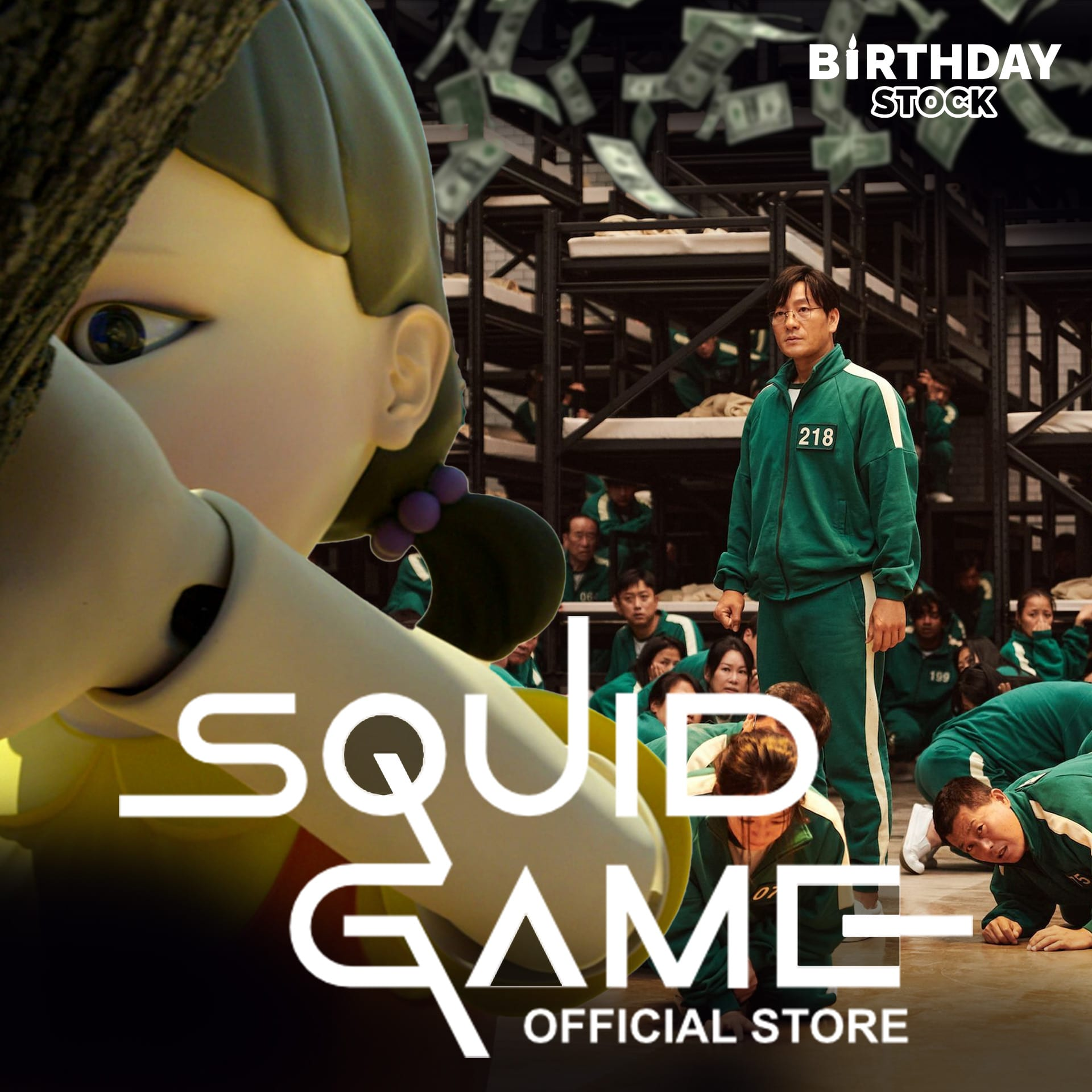 squid game costumes for family, kids, dogs