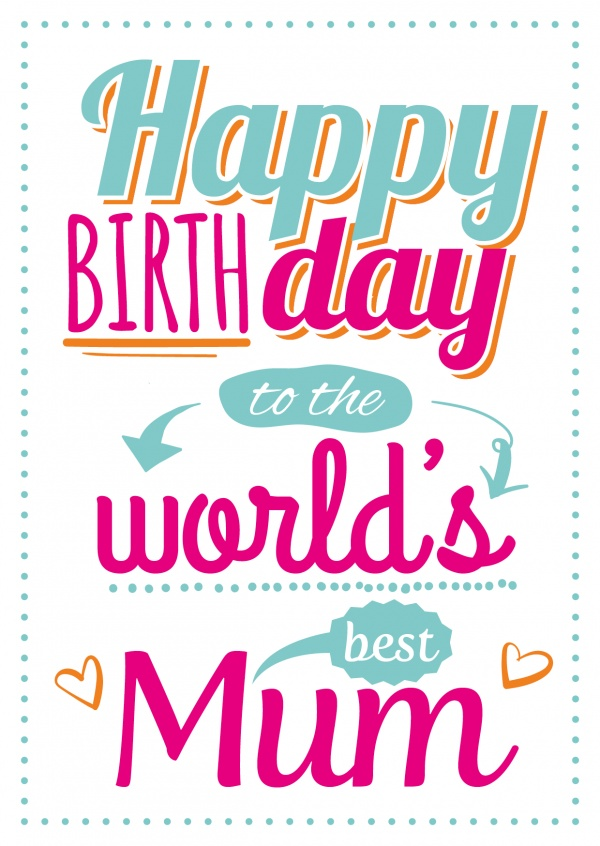 Happy Birthday Images for mom