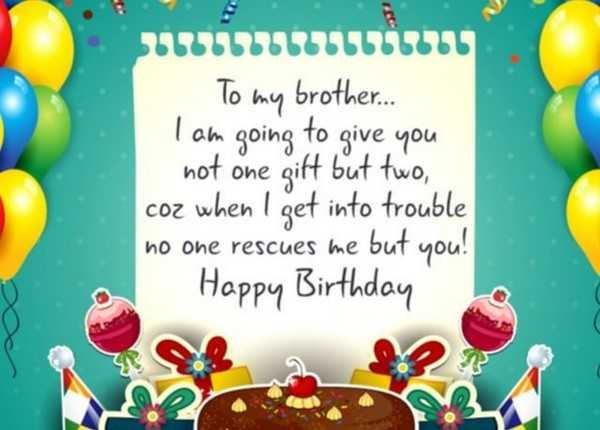 Birthday wishes for brother download