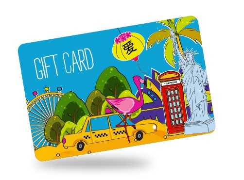 Gift cards - Birthday surprise ideas for him