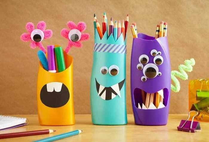 Shampoo-Bottle-Pencil-Holder-birthday surprise ideas