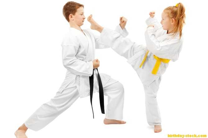 Birthday surprise ideas as Coaching Karate classes