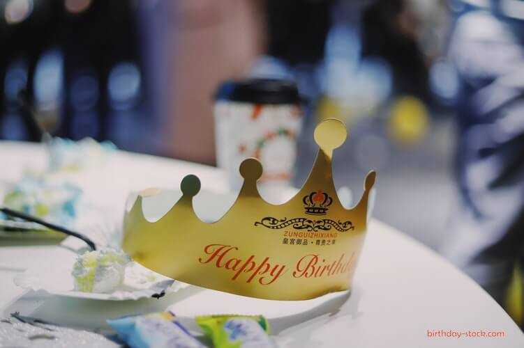 Happy Birthday Images with crown