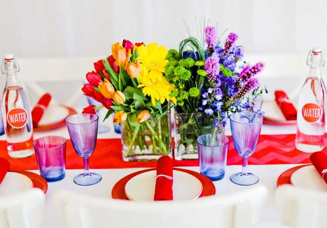 Happy birthday table decoration ideas