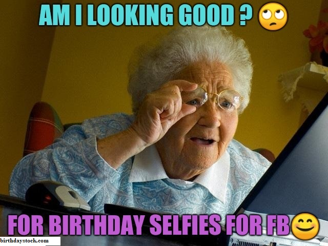 Birthday memes for old women