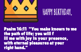 Bible Birthday Verses for Son