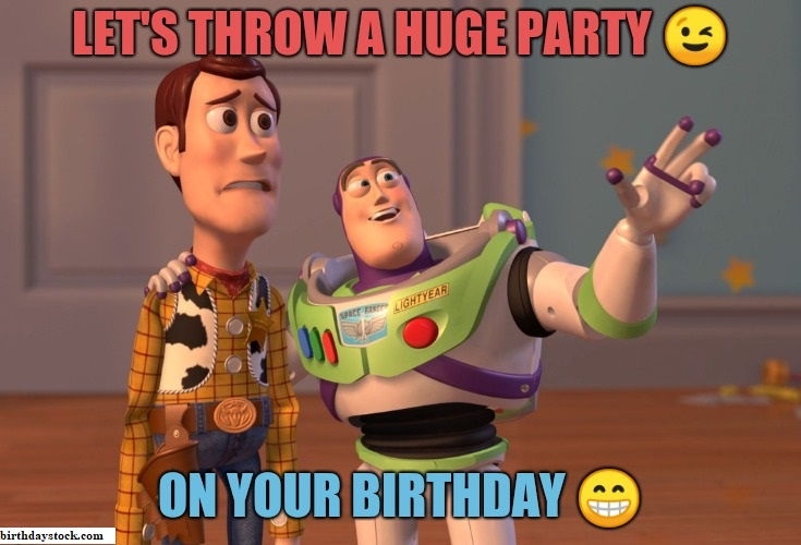 Birthday meme for a friend