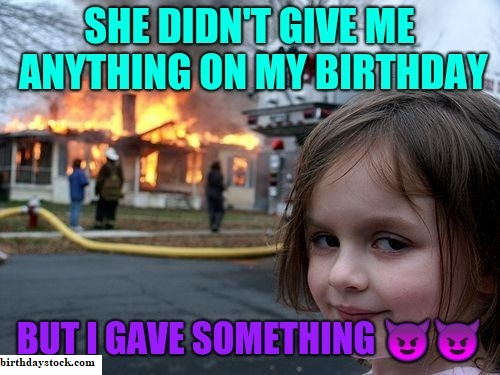 Happy Birthday meme for ladies