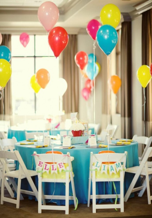 Creative Easy Happy Birthday Ideas for Twins Baby Boy and Girls