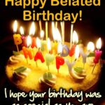 Belated Happy Birthday Wishes Download