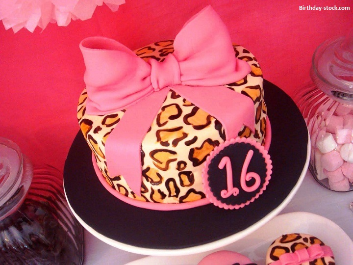 Happy Birthday Cakes Images & Pics for Sweet Sixteen Girls