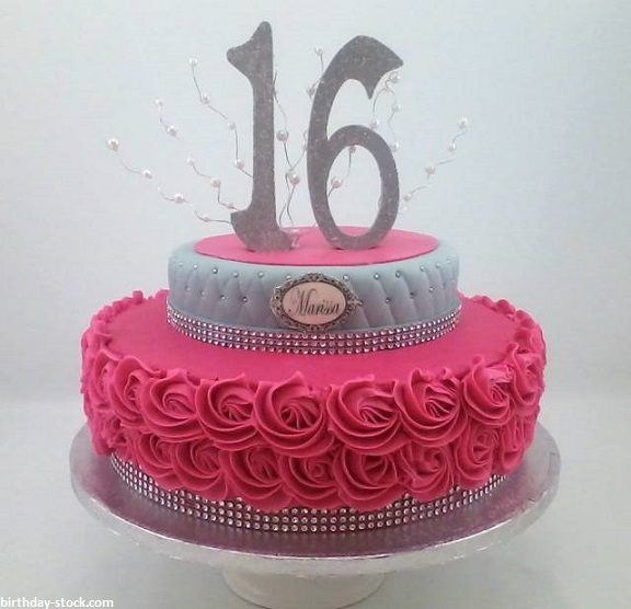 Happy Birthday Cakes Images for Girls