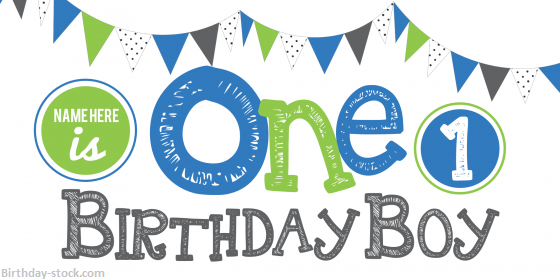 Happy Birthday Images for 1st Birthday Download