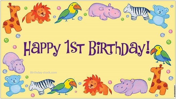 Happy Birthday Quotes Images Wishes Pics for 1st Birthday Download