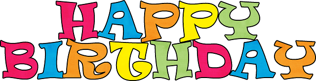 Happy Birthday Frame Clip Art Png