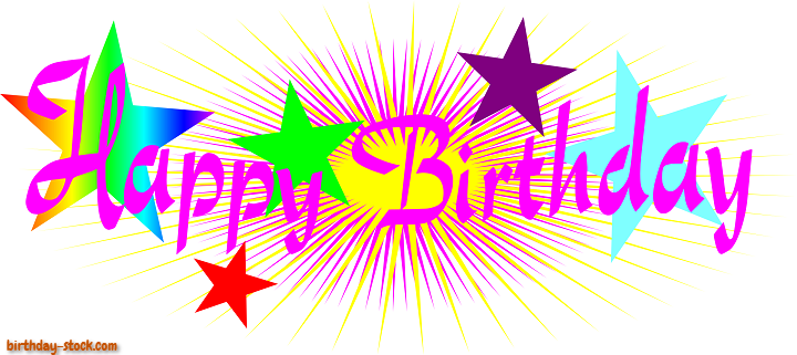 Happy Birthday Png Card Images