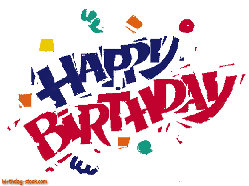 Happy Birthday Png File