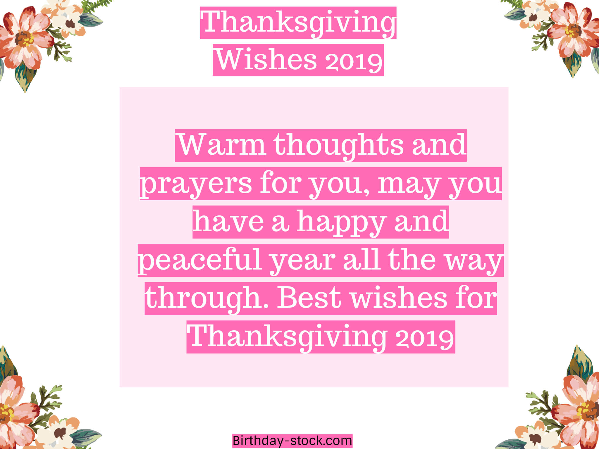 Beautiful Happy Thanksgiving Wishes 2019 –  Happy Thanksgiving Wishes Quotes 2019