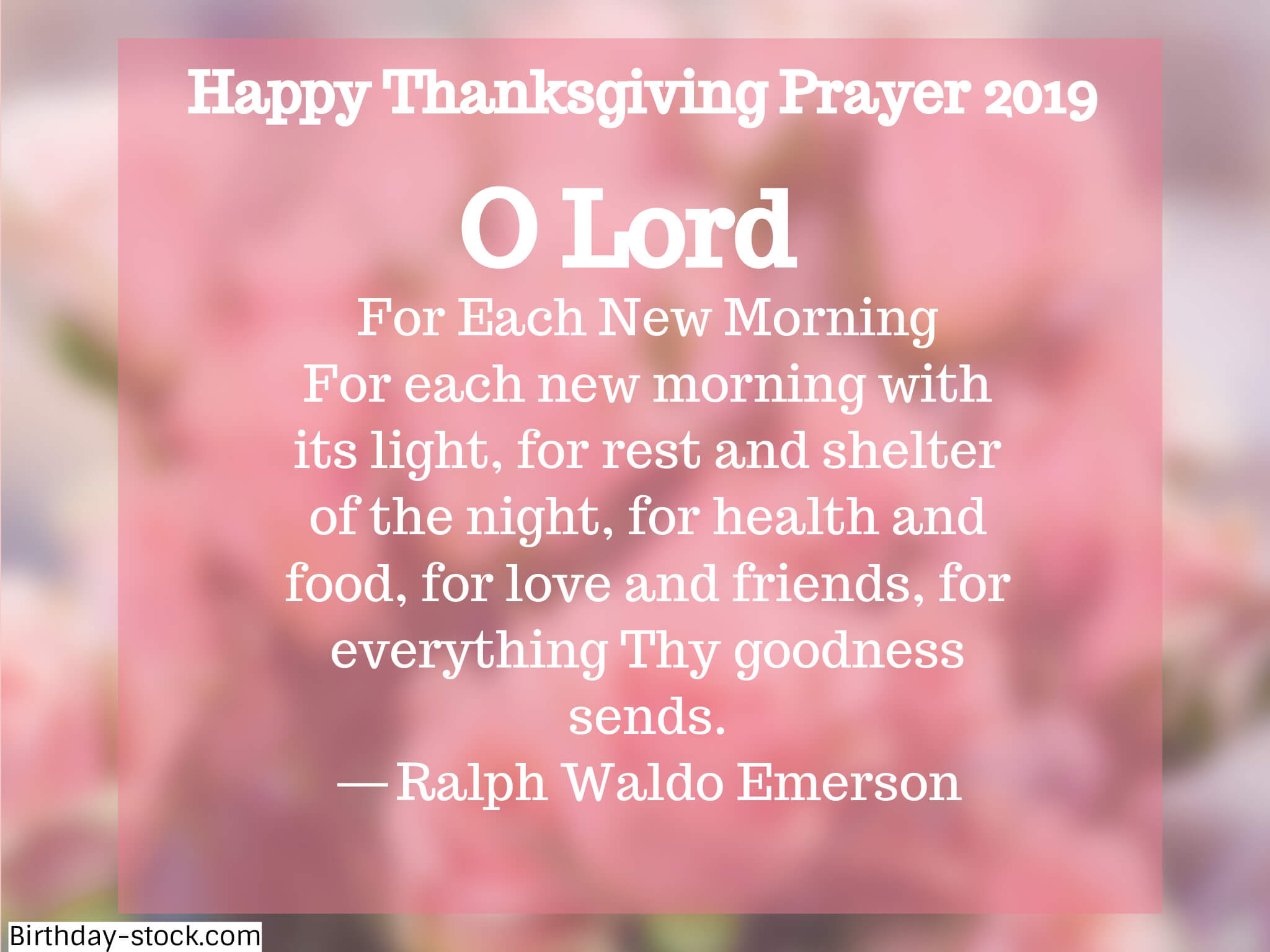 Happy Thanksgiving Prayers for Food