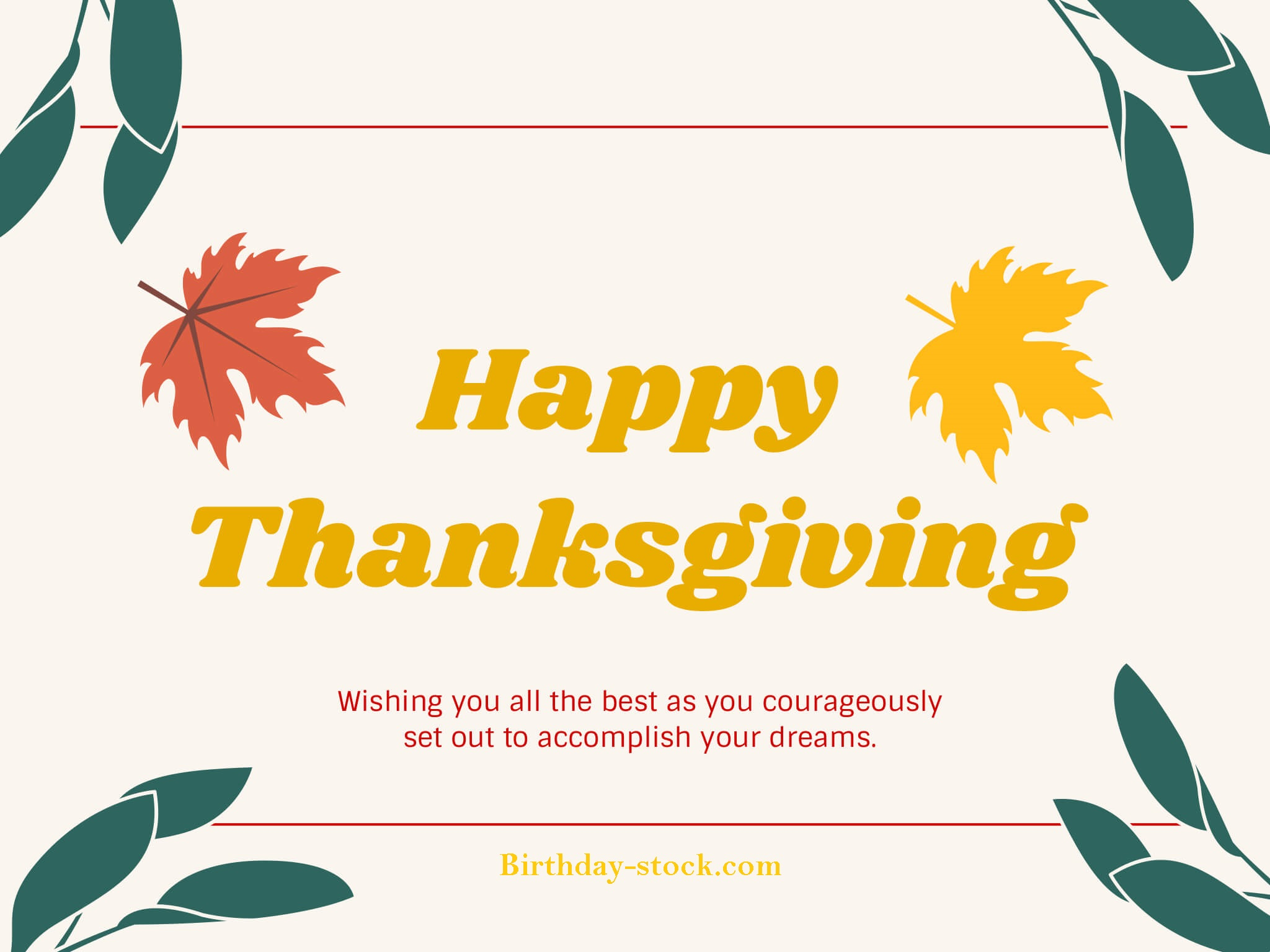 Happy Thanksgiving greeting card 2019