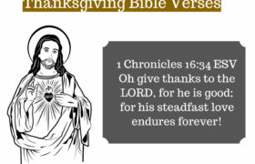 Thanksgiving Bible Verses for GOD