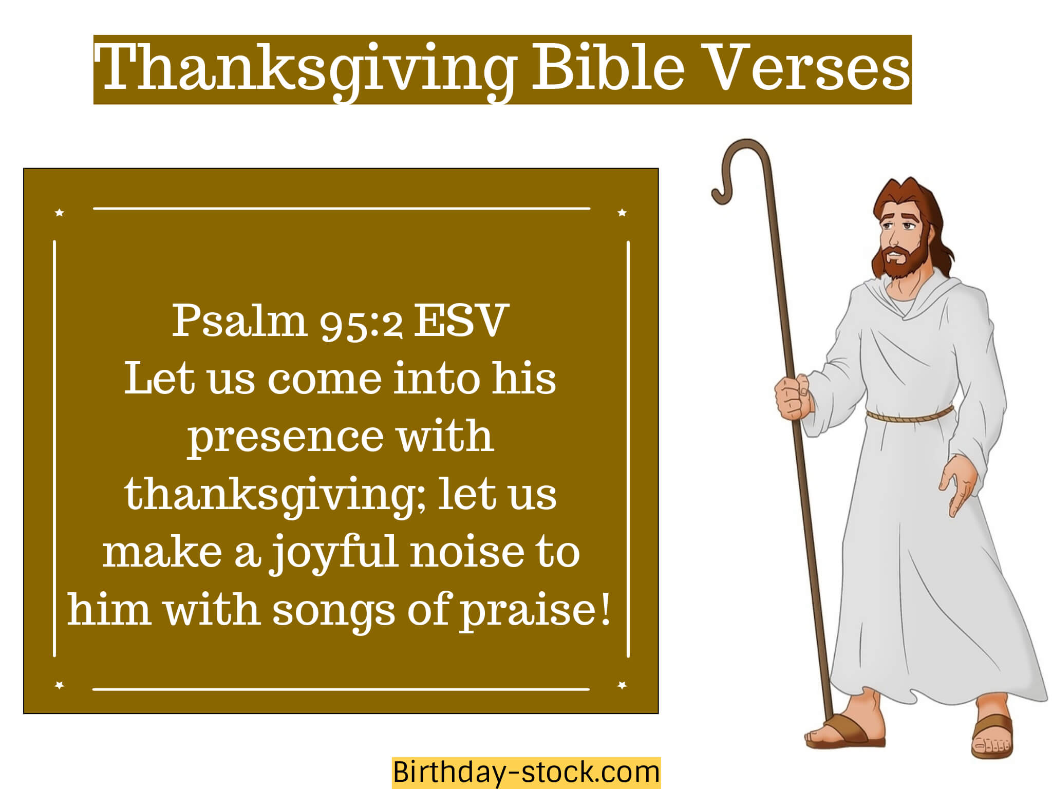 Thanksgiving Bible Verses