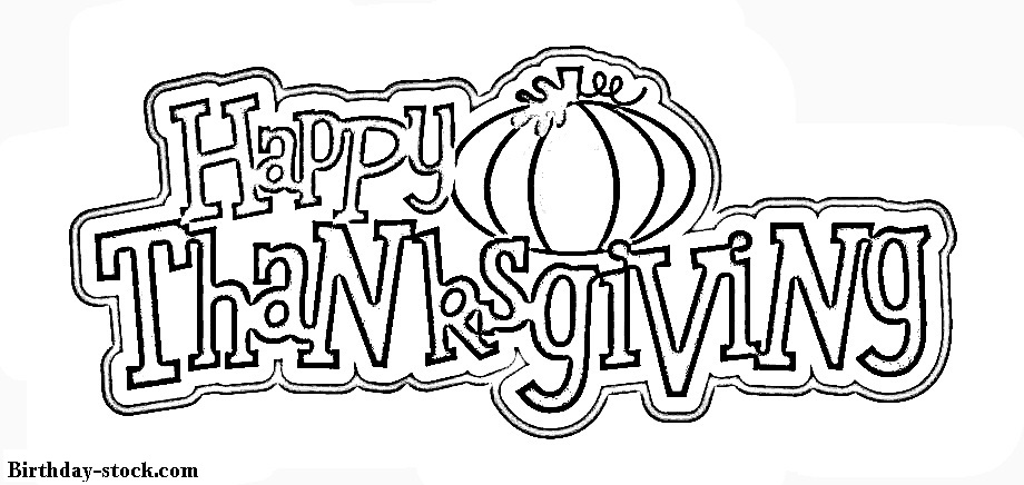 Thanksgiving Coloring Pages 2019 free