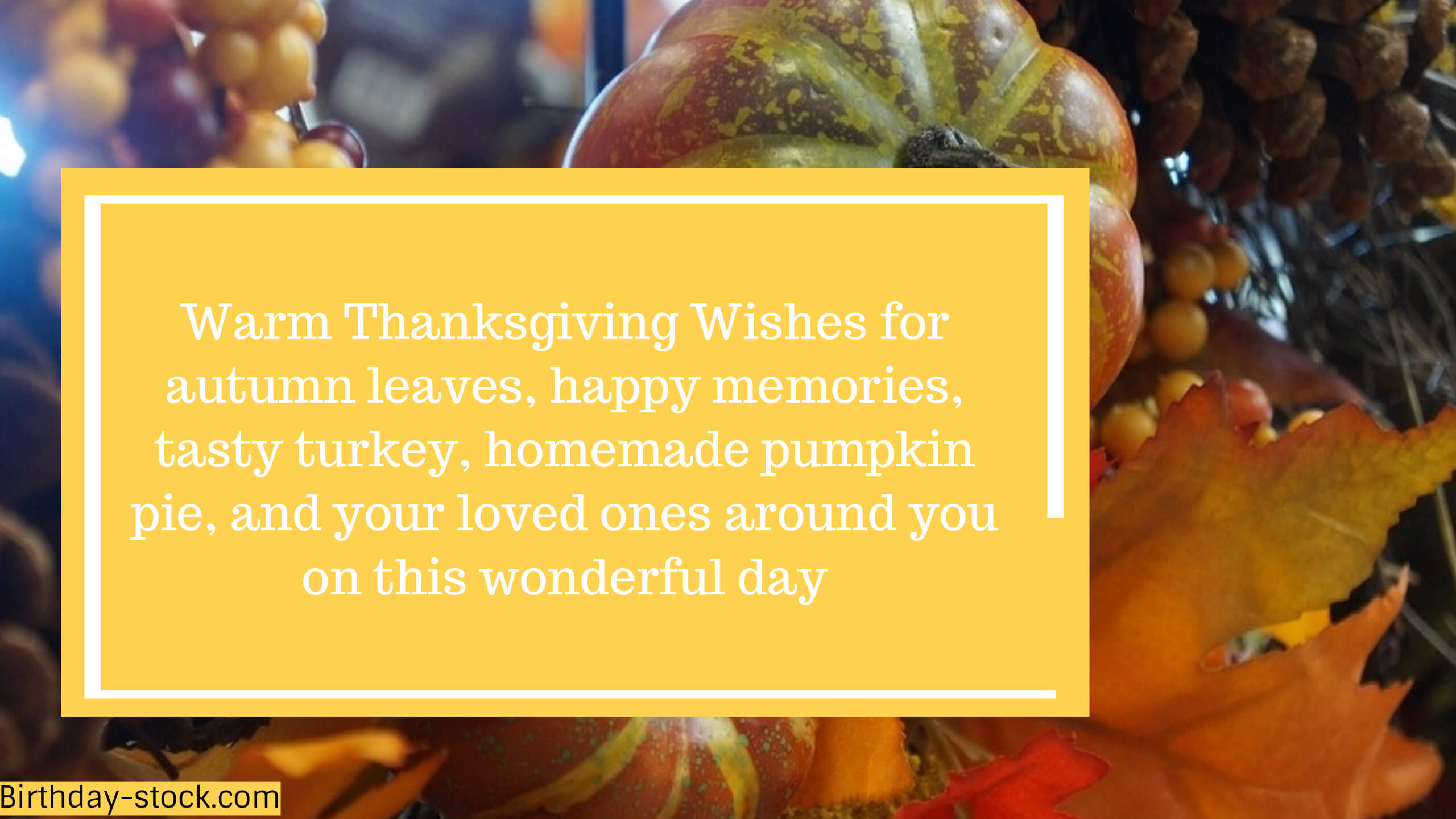 Thanksgiving Messages 2019