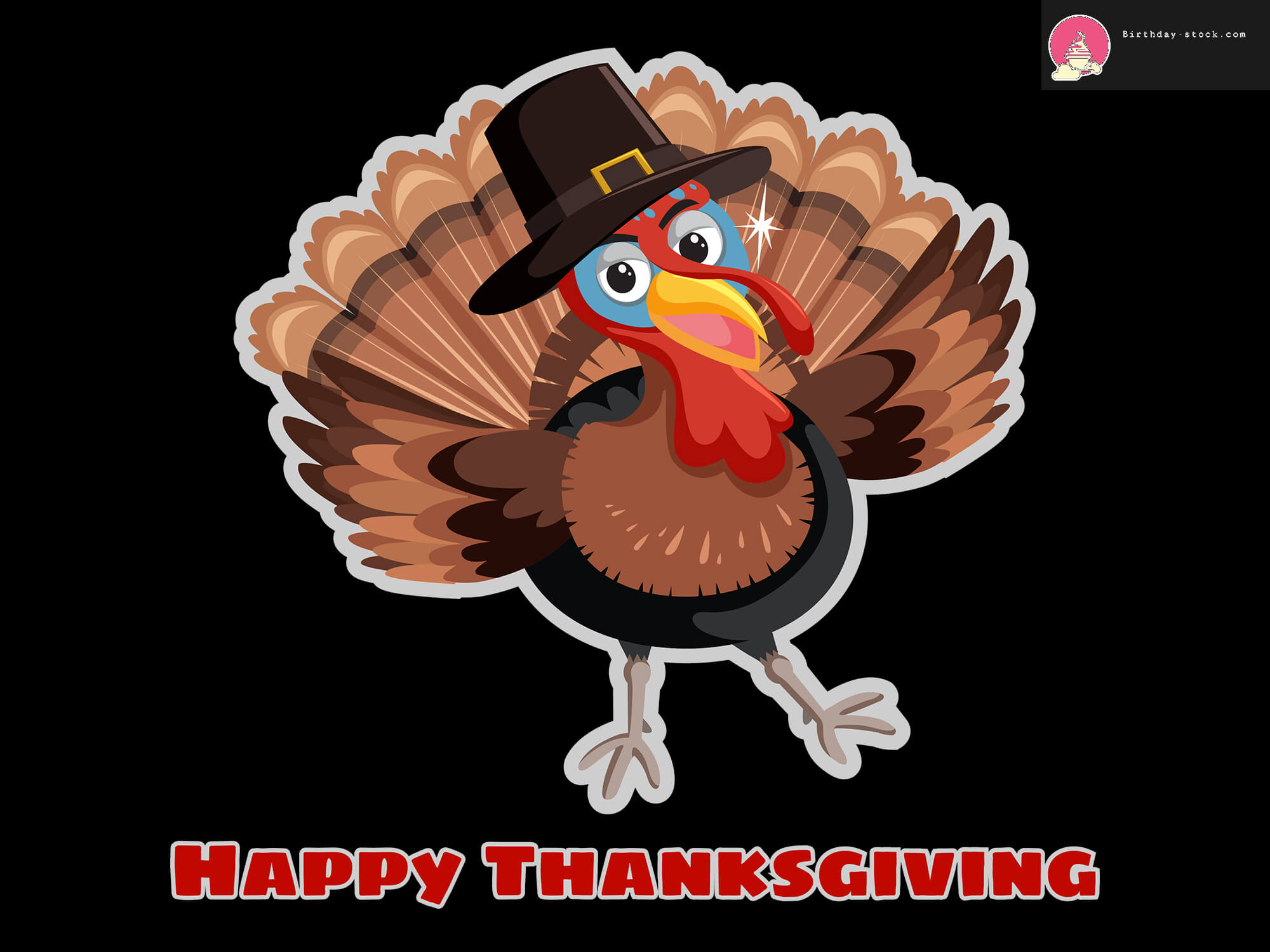 Thanksgiving clipart with Turkey