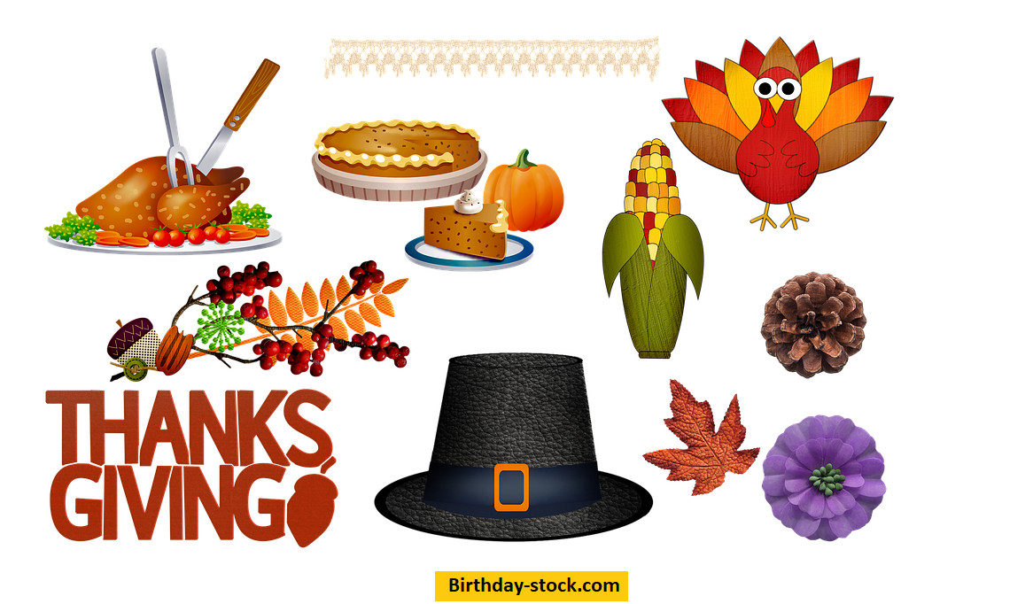 thanksgiving Dinner Leaf Food Turkey Chicken Clip Art