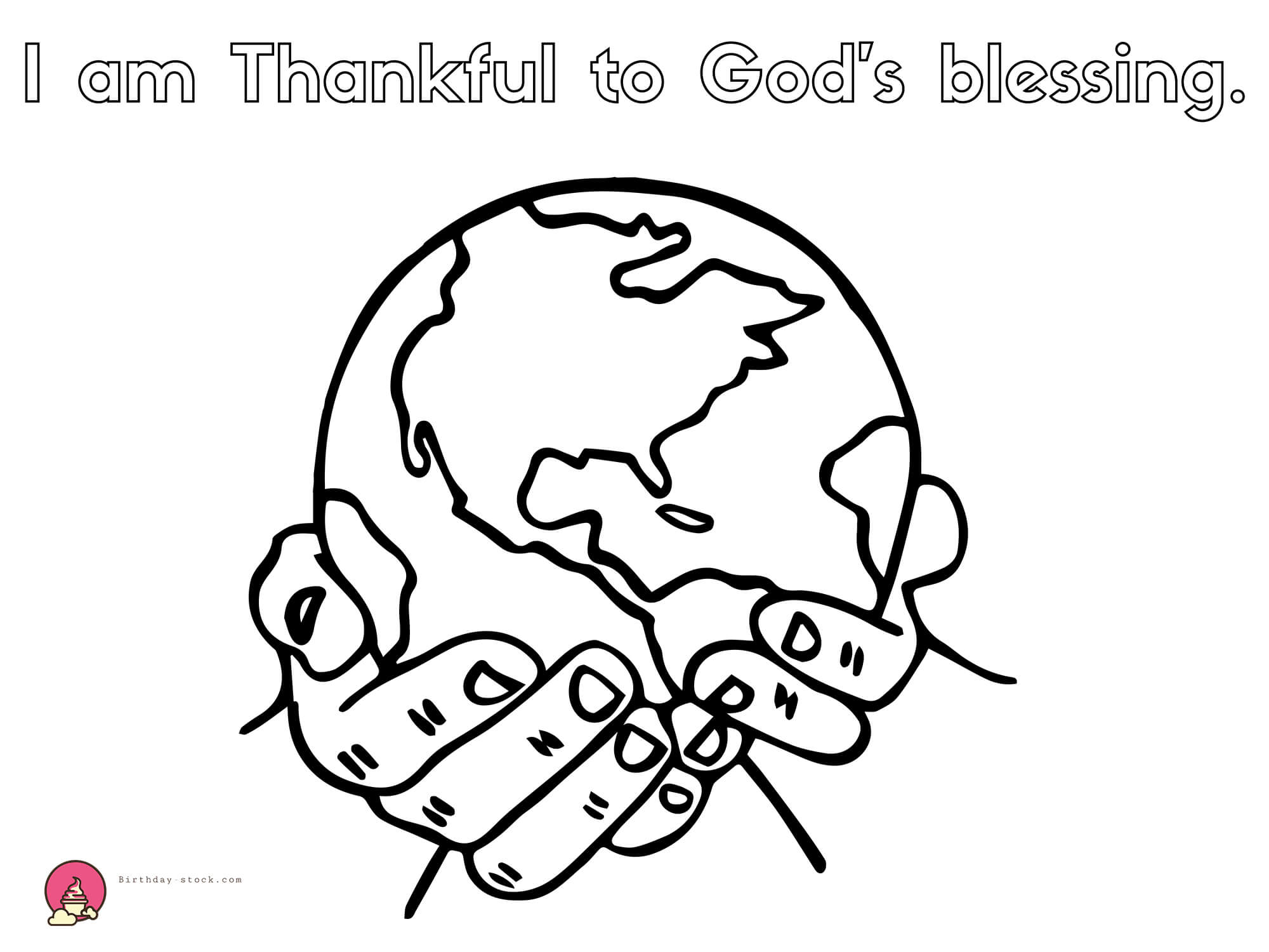 thanksgiving coloring pages for Christian