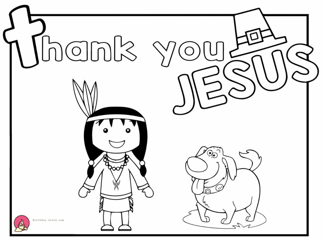 thanksgiving coloring pages for Sunday school