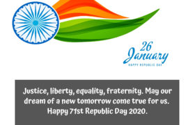 # Top 33+ Republic Day 2020 Quotes Messages wishes Sms Greetings (26 January)