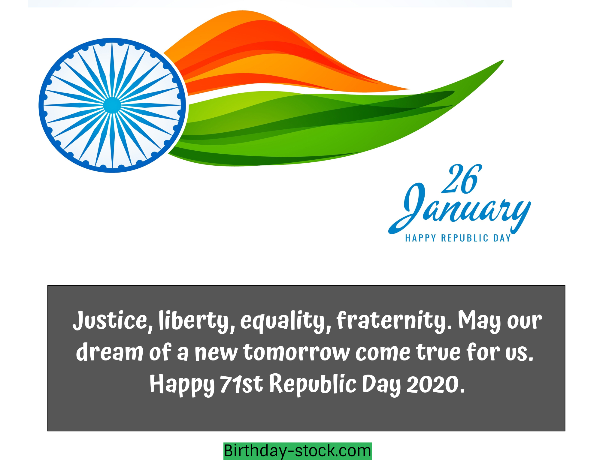 Prime Top 33 Republic Day 2020 Quotes Messages Wishes Sms Greetings 26 Personalised Birthday Cards Paralily Jamesorg
