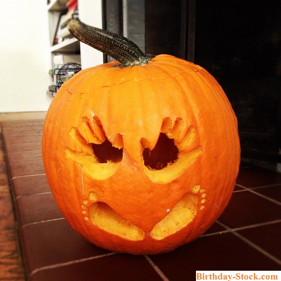 Pumpkin Carving Ideas with Babies Hand