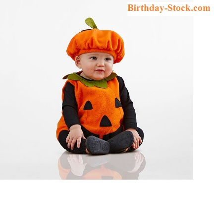 Pumpkin Carving Ideas with Baby Outfit