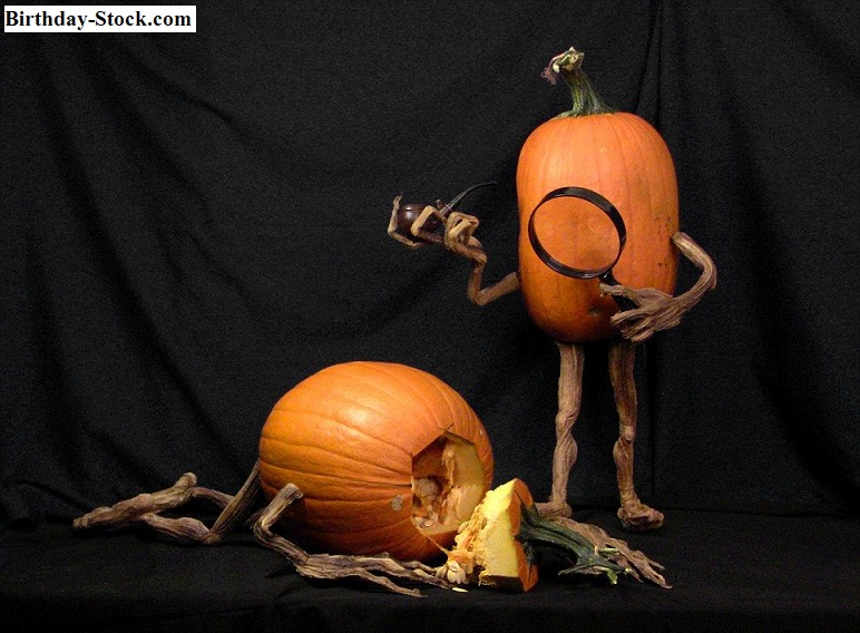 Pumpkin Carving Ideas with Crime Scene