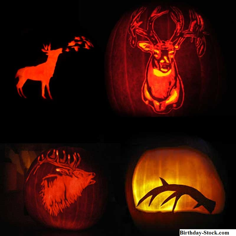 Pumpkin carving ideas 2020 with Hunting awareness