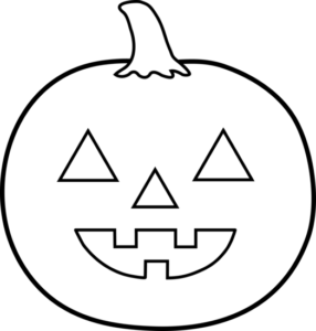 jack o lantern outline Ideas