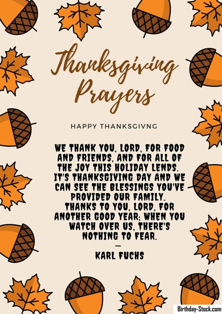 10+ Thanksgiving Prayers for the Thanksgiving Day 2020