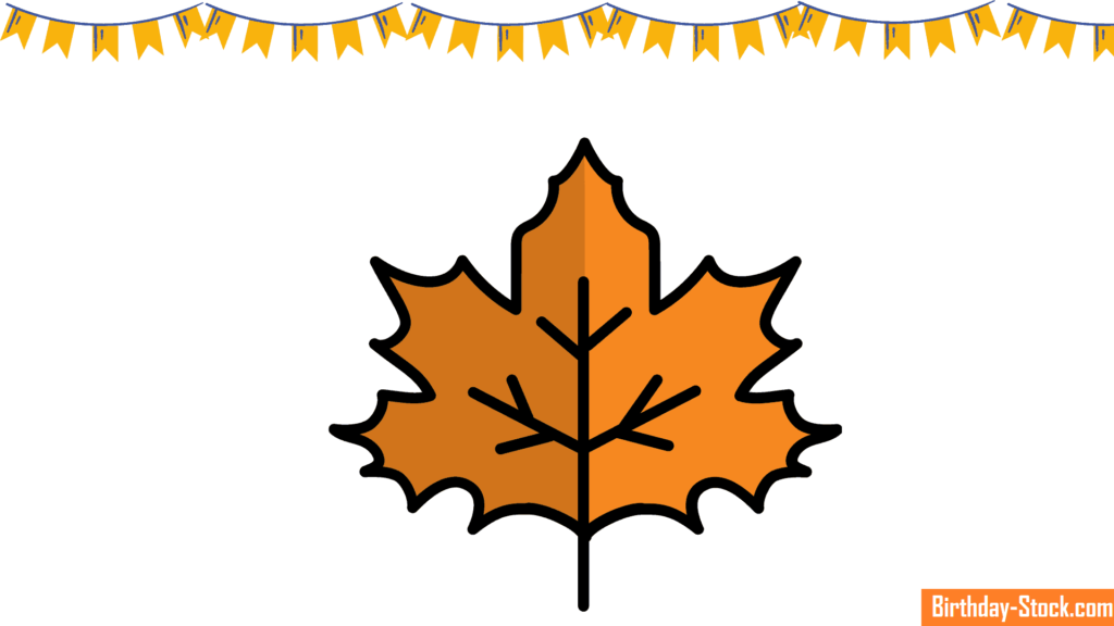 Happy Thanksgiving Leaves Clipart